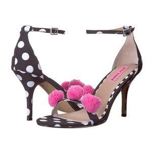 Betsey Johnson Lylly polkadot heels